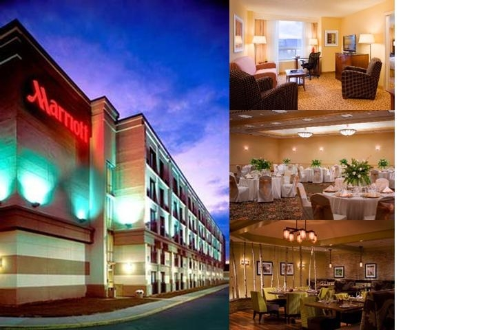 Minneapolis Airport Marriott photo collage