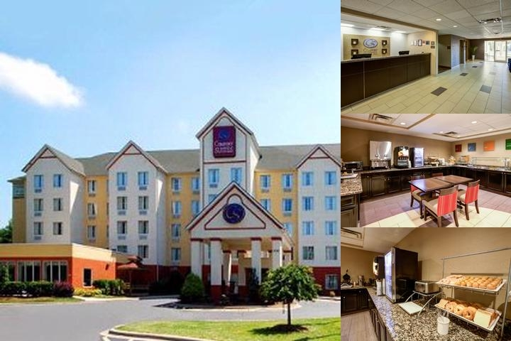 Comfort Suites Airport Charlotte Nc 3424 Mulberry Church Rd 28208
