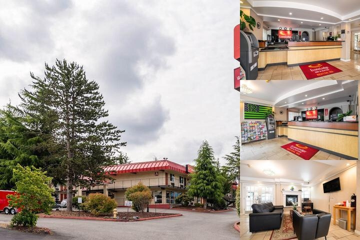 Econo Lodge Renton Bellevue photo collage