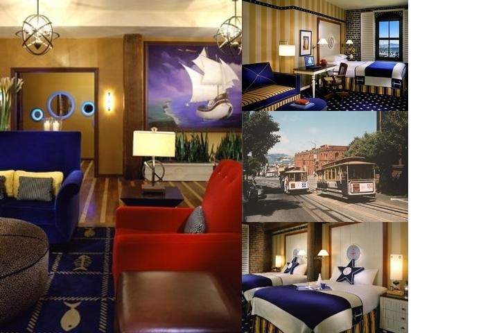 Argonaut Hotel photo collage
