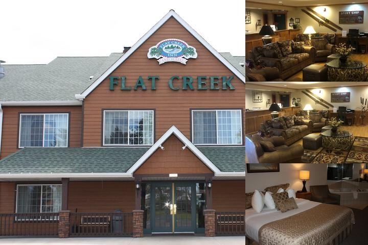 Flat Creek Inn & Suites photo collage