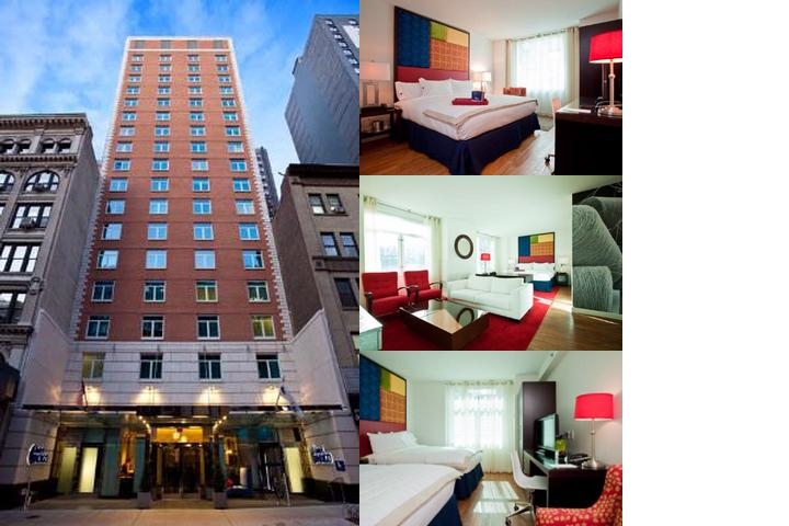 Hotel Indigo New York City Chelsea photo collage