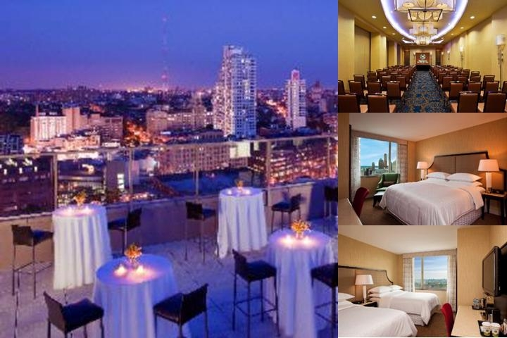 Sheraton Brooklyn New York photo collage
