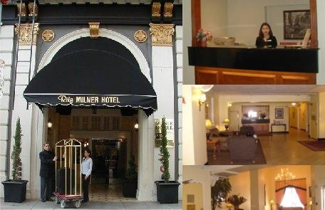 Ritz Milner Hotel photo collage