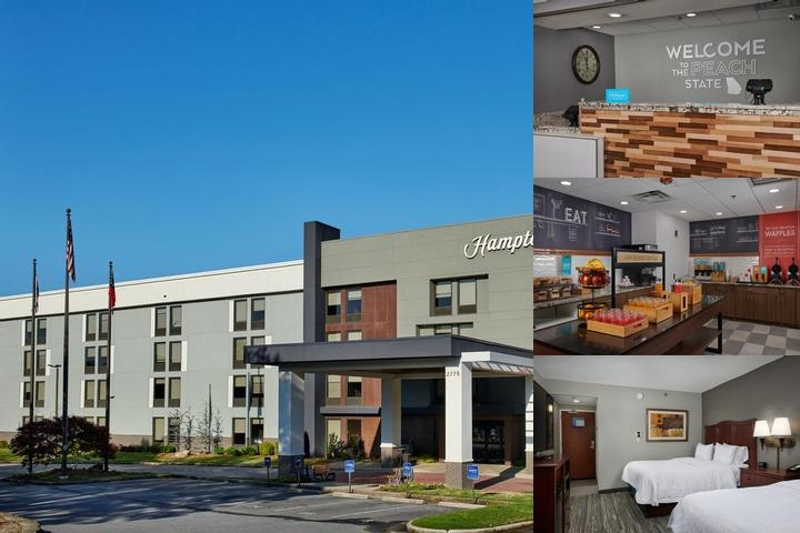 Hampton Inn Cumberland photo collage