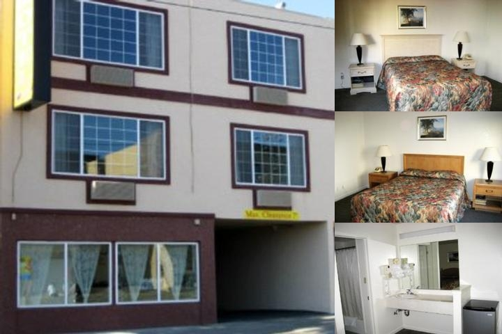 Oceanview Motel photo collage