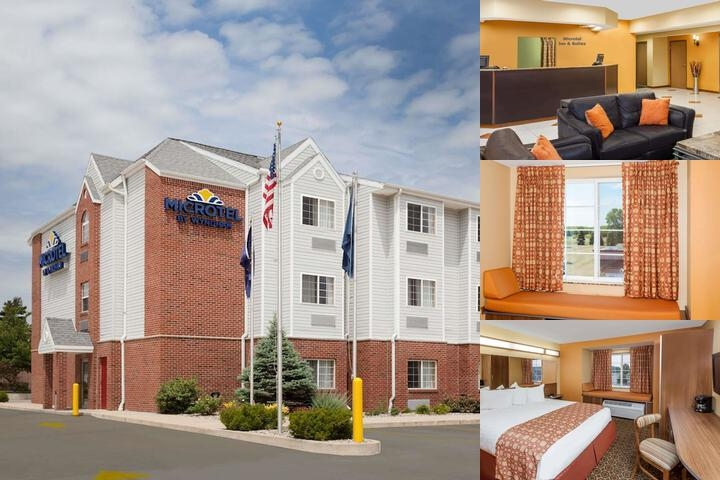 Microtel South Bend Notre Dame photo collage
