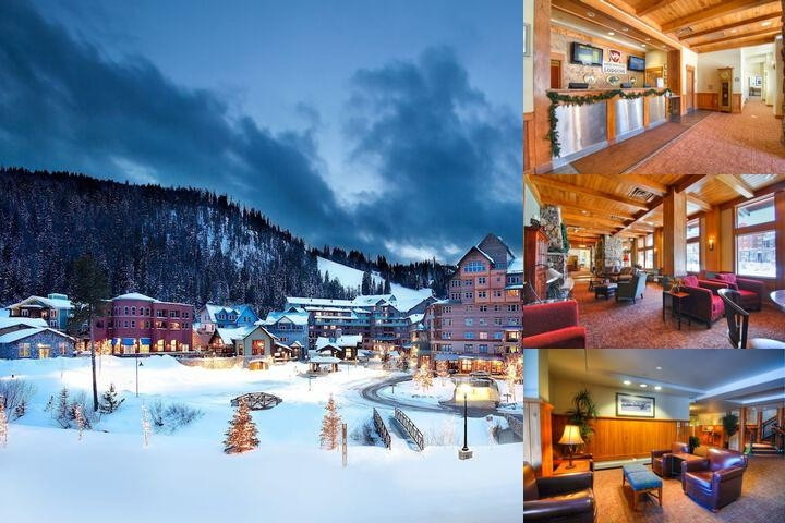Zephyr Mountain Lodge photo collage