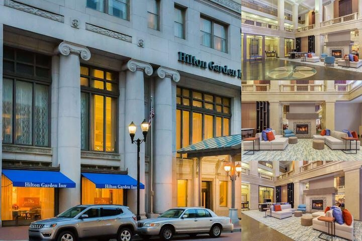 Hilton Garden Inn Indianapolis Downtown photo collage