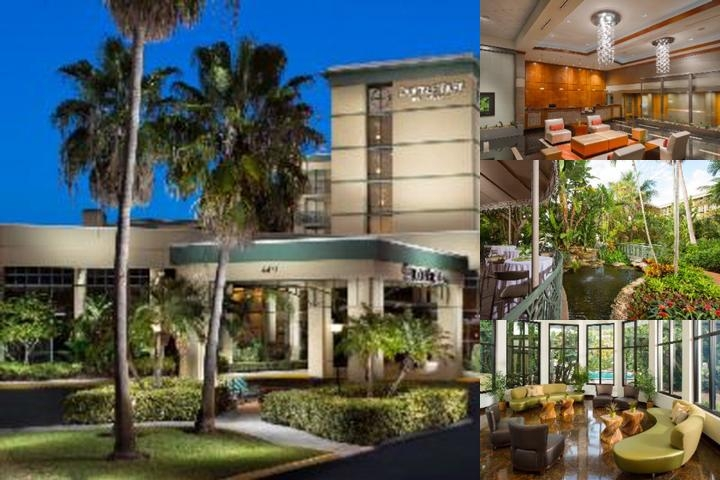 Doubletree Palm Beach Gardens Florida photo collage