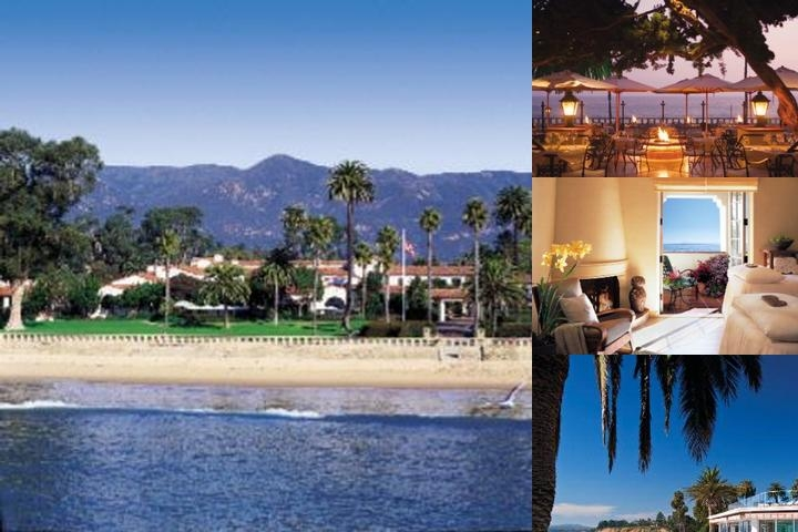 Four Seasons The Biltmore Santa Barbara photo collage