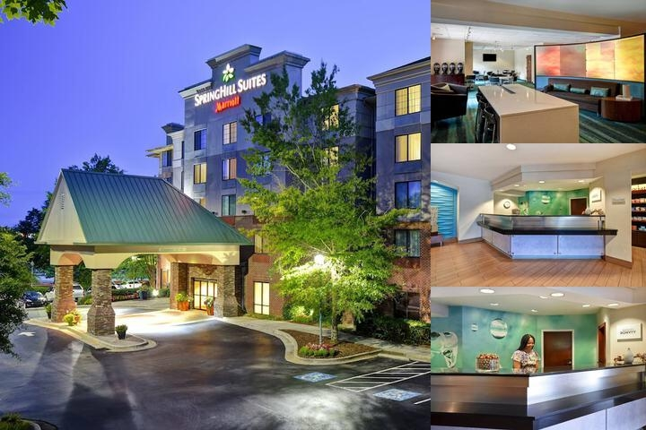 Buford Springhill Suites photo collage