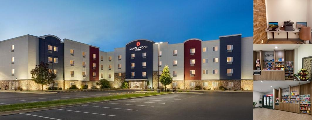 Candlewood Suites Springfield North photo collage CANDLEWOOD