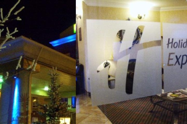 Holiday Inn Express Hotel & Suites Airdrie Calgary photo collage