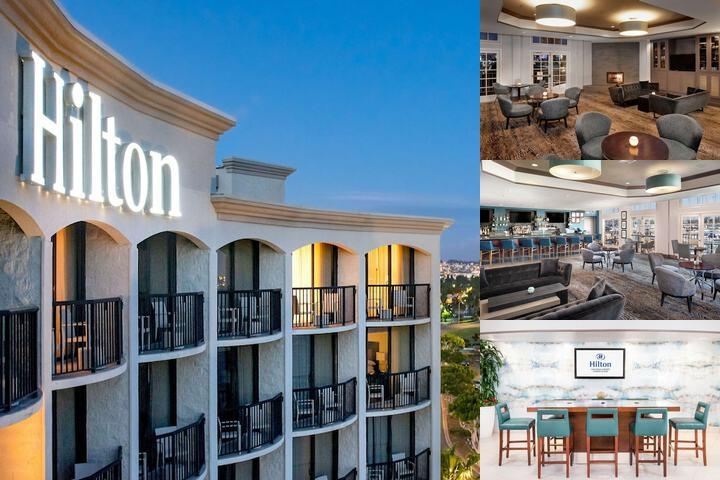 Hilton San Diego Airport Harbor Island photo collage