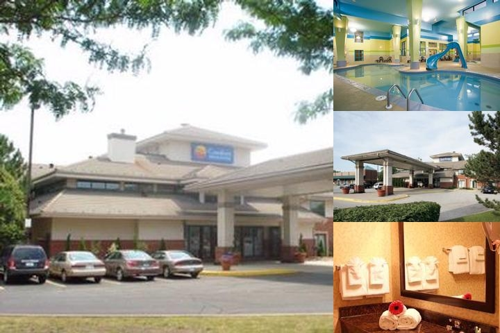 Comfort Inn & Suites Windsor Ambassador Bridge photo collage