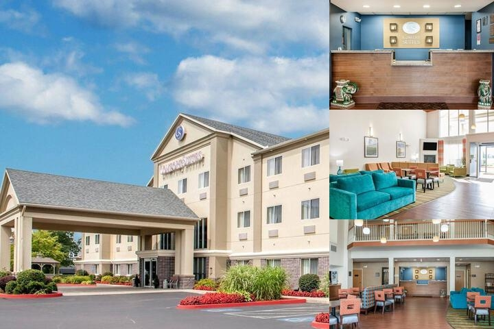 Comfort Suites North photo collage