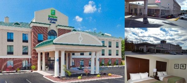 Holiday Inn Express Hotel & Suites White Haven Lak photo collage