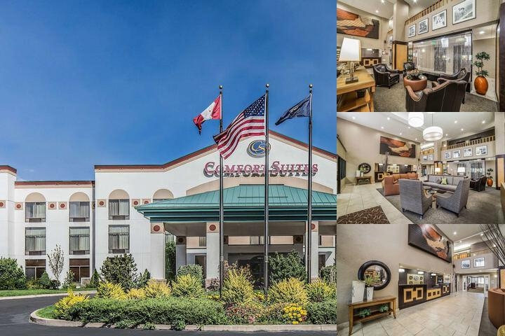 Comfort Suites Hotel Photo Collage