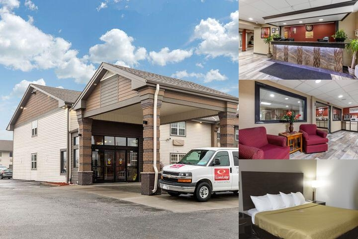 Econo Lodge Hotel photo collage