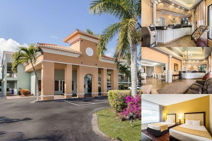 Quality Inn Boca Raton photo collage