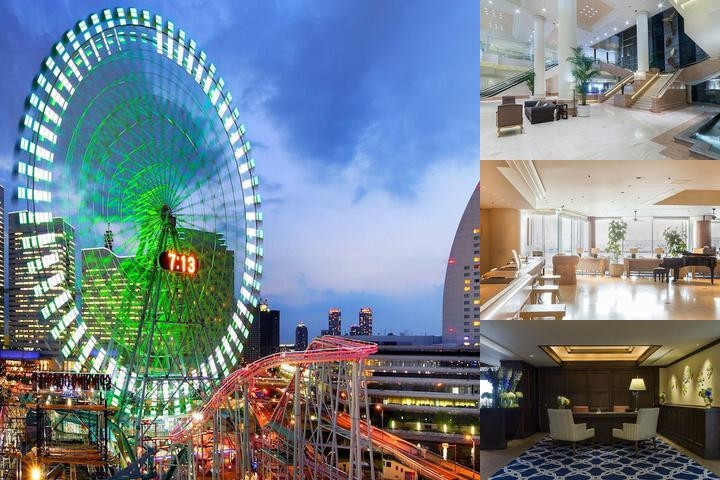 Intercontinental Yokohama Grand photo collage