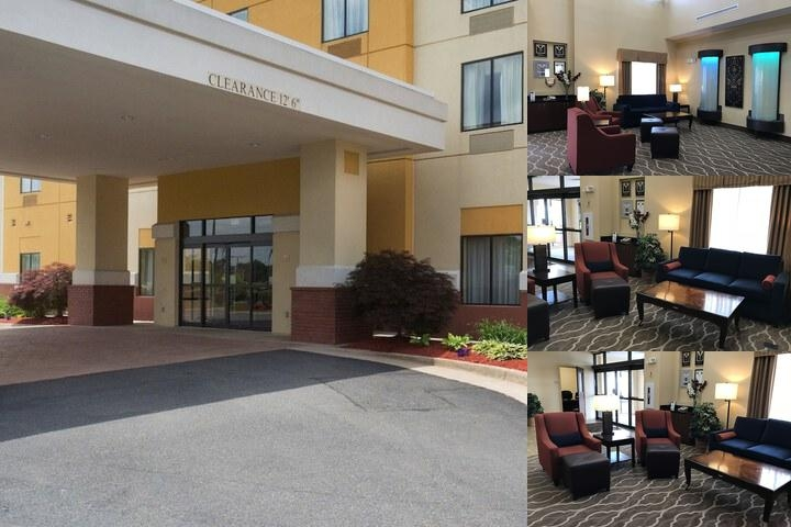 Comfort Suites Fredericksburg North photo collage