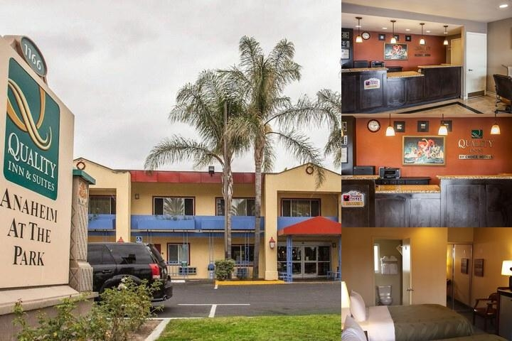 Quality Inn & Suites Anaheim at the Park photo collage