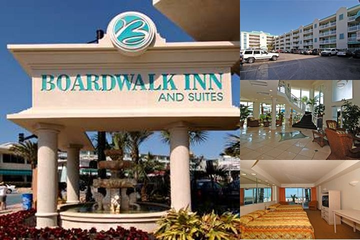 The Boardwalk Inn & Suites photo collage