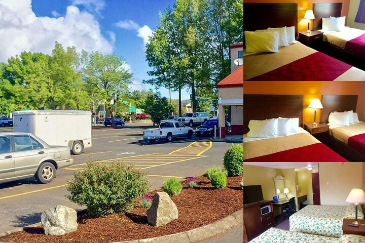 Rodeway Inn Willamette River photo collage