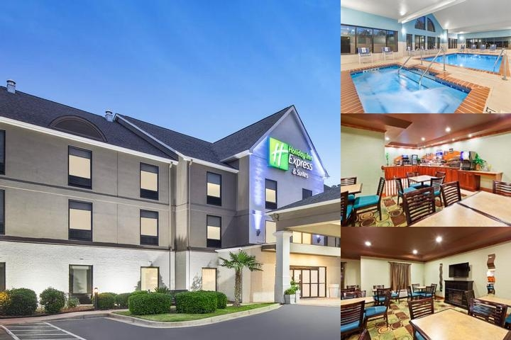 Holiday Inn Express Hotel & Suites Duncan photo collage