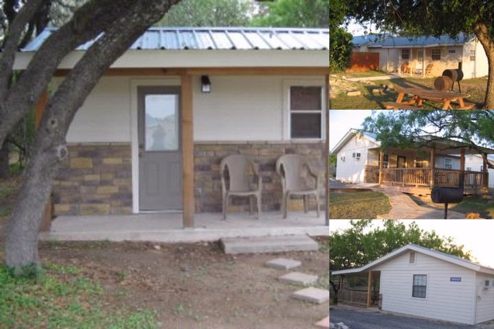 4 J Riverway Frio River Cabins photo collage