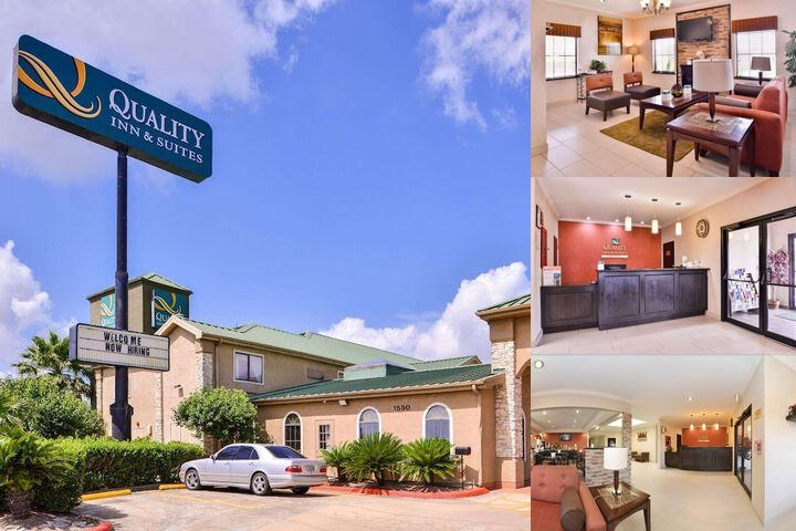 Quality Inn & Suites Beaumont photo collage