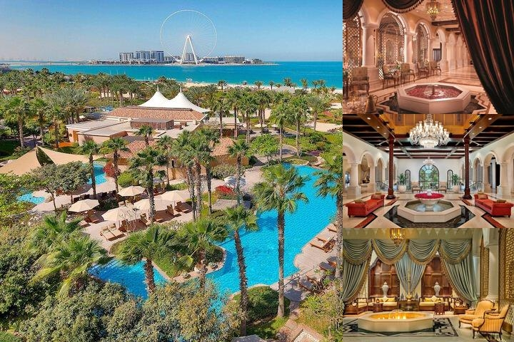 The Ritz Carlton Dubai photo collage