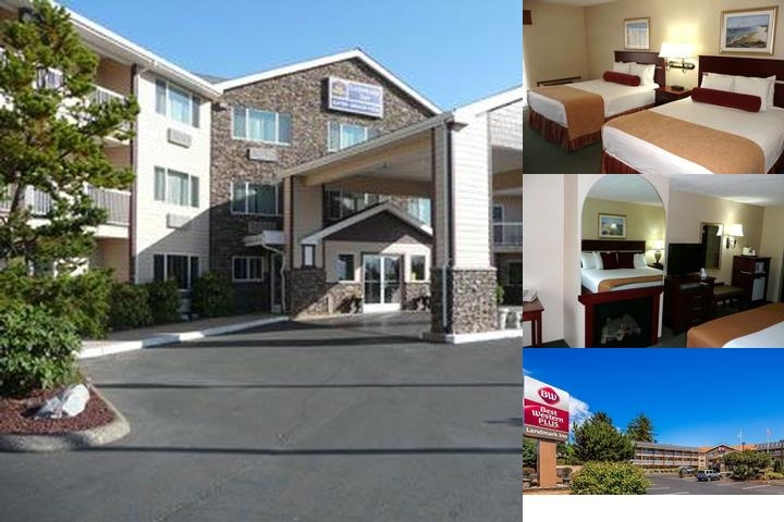 Best Western Plus Landmark Inn photo collage