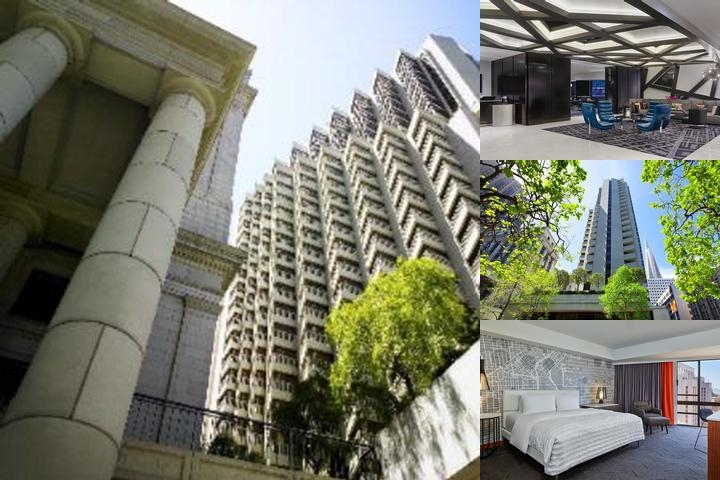 Le Meridien San Francisco photo collage