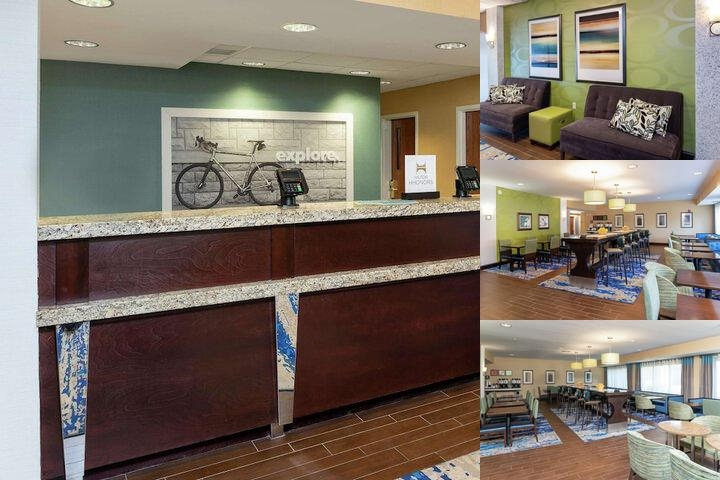 Hampton Inn East Lansing photo collage