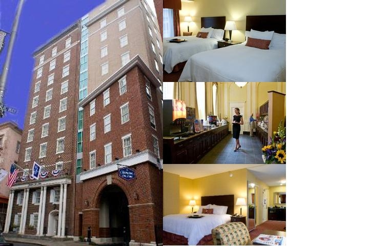 The Hampton Inn & Suites Providence Downtown photo collage