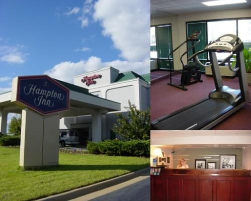Hampton Inn Mebane photo collage