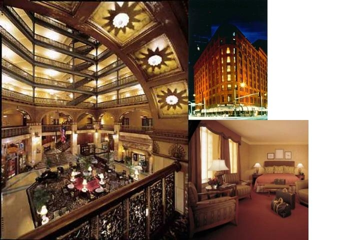 The Brown Palace Hotel photo collage