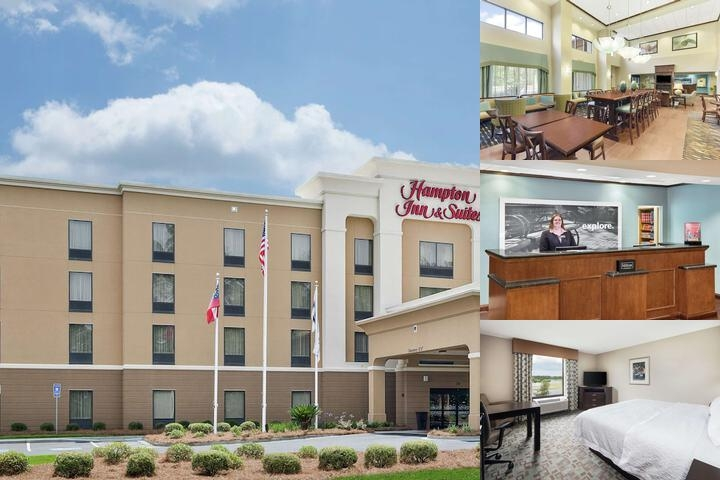 Hampton Inn & Suites Savannah Airport photo collage