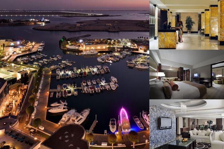 Intercontinental Abu Dhabi photo collage
