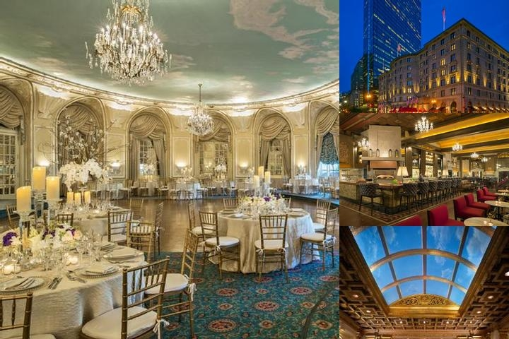 The Fairmont Copley Plaza Hotel photo collage