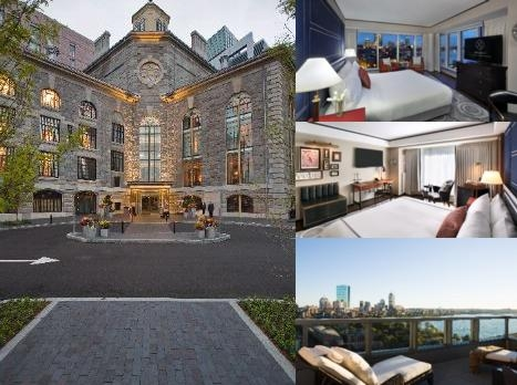 The Liberty Hotel photo collage