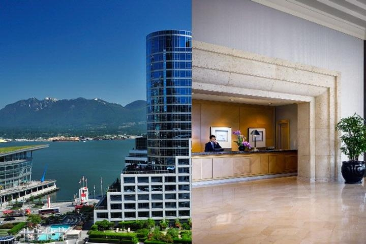 Fairmont Waterfront photo collage