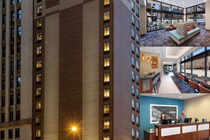 Hampton Inn Cleveland Downtown photo collage