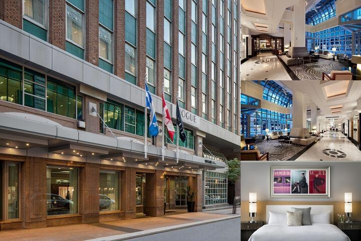 Loews Hotel Vogue photo collage
