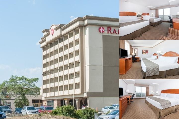 Ramada Edmonton South photo collage
