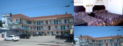 Aqua Breeze Inn Santa Cruz Ca photo collage