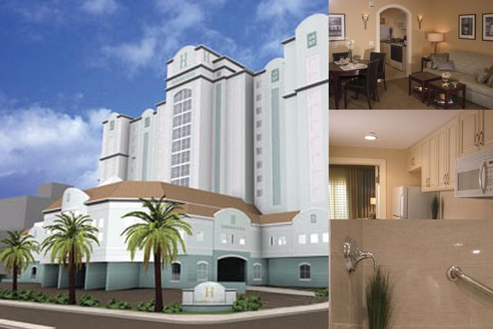 Hilton Suites photo collage